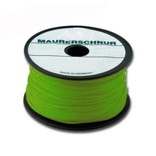 OVERMANN Maurerschnur PE 1.0mm 100m grün