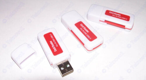 3x All In One multi-Memory Adapter micro SD Card Reader to USB Support 64GB  USA