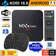 2019 MXQ PRO 4K TV BOX Android 7.1 KODI 18 Quad Core Smart Media Player 1GB+8GB