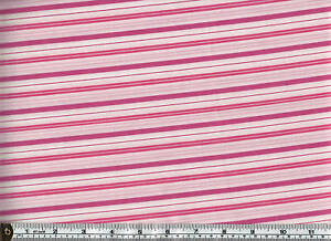 Party in paradise 100/% Cotton Quilting craft Fabric Pink Flowers Spots Stof 1176