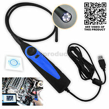 USB Video Kamera Snake Scope Boreskop Endoskop Inspektion 7mm Camera AVI