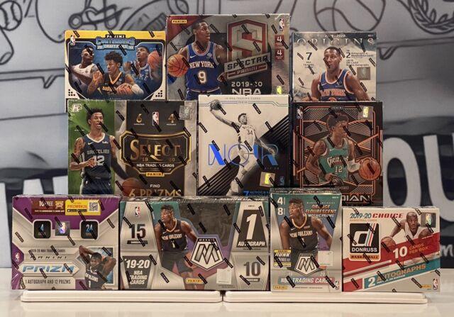BOSTON CELTICS 2019-20 Basketball 10 Box Case Break Mixer Spectra-Noir-Select
