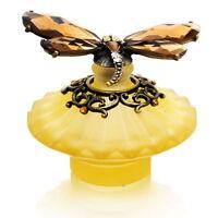 Amber Dragonfly Decorative Perfume Bottle Model No. Pb-1028 Brand on sale