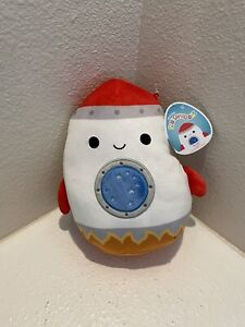 """RARE Rudy the Rocket 8"""" Squishmallows Space Squad Summer 2021 NWT"""