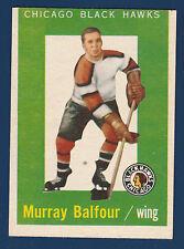 MURRAY BALFOUR RC 59-60 TOPPS 1959-60 NO 33 EX 4