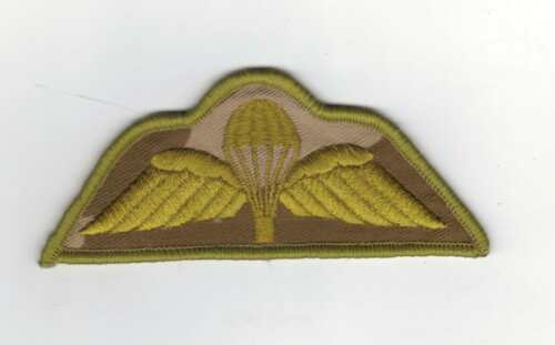DESERT ISSUE BRITISH ARMY PARACHUTE REGIMENT QUALIFICATION WINGS NEW