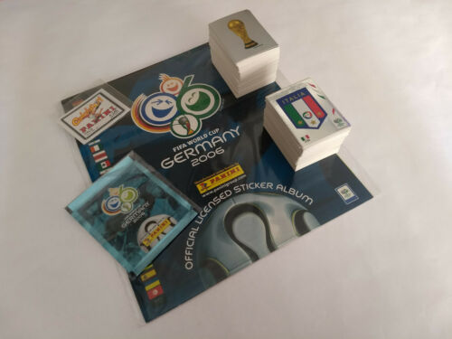 Panini 2006 Germany WC World Cup Complete Loose Sticker Set Empty Album