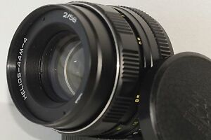 HELIOS-44M-4-2-58mm-Soviet-SLR-Lens-Pentax-Zenit-M42-Adapter-for-anon-EOS-EF