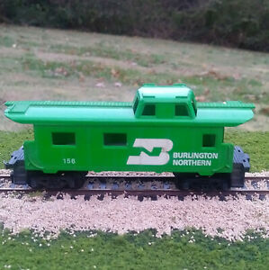 Tyco-HO-Scale-Burlington-Northern-Caboose