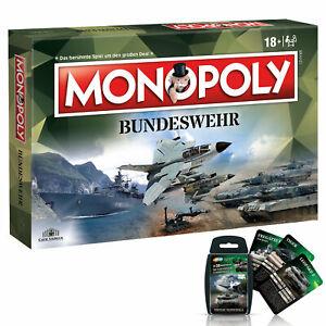 Monopoly-Bundeswehr-Soldaten-Spiel-Gesellschaftsspiel-Brettspiel-Quartett