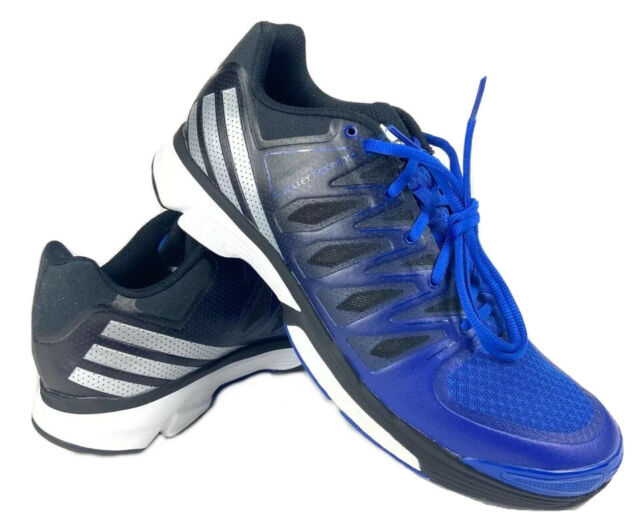 Adidas Women Response Boost 2.0 Volleyball Shoes Blue Mesh Lace Up AQ5474 11 New