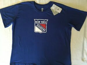 NWT NHL New York Rangers Hockey Women s Shirt Plus Size 2X  b720cab73d