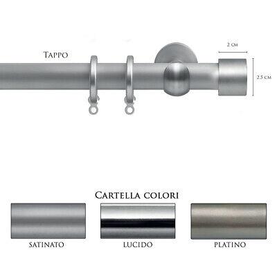 Scorritenda Bastone Per Tenda Alluminio Strappo Corda Con Anelli Tappo Vami Vraag Die Groter Is Dan Het Aanbod