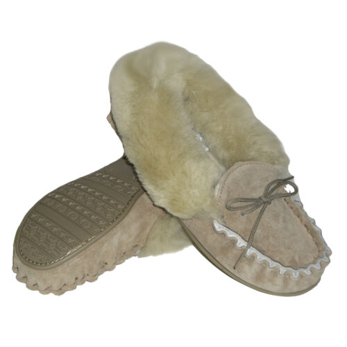 Womens Sheepskin Uk With Moccasins Suede Collar Lined 100 Made In Z65wrqnZU4