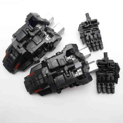Simple Version PERFECT COMBINER UPGRADE SET Revised Ver For  CW BRUTICUS Black