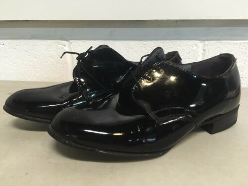 7 1//2 M USGI Women/'s US Military Shiny Black Uniform Dress Shoes Honor Guard