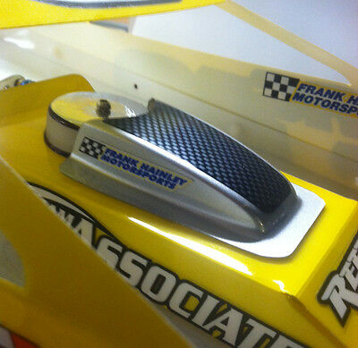 1//10 SCALE R//C DIRT OVAL MODIFIED EDM HOOD ASSEMBLY K1016 AIR SCOOP AND BASE