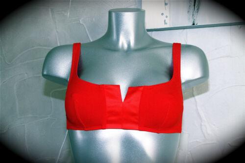 swimsuit maillot de bain rouge haut ERES perfecto T 40 NEUF ETIQUETTE val 205€