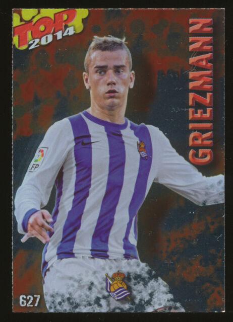 #627. ANTOINE GRIEZMANN (Top Rojo) - Real Sociedad 2013/2014 - CARD Mundicromo