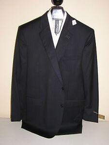 d8d74ed43af5 $1295 new Jos A Bank Signature Gold Navy stripe 2 button suit 40 L ...