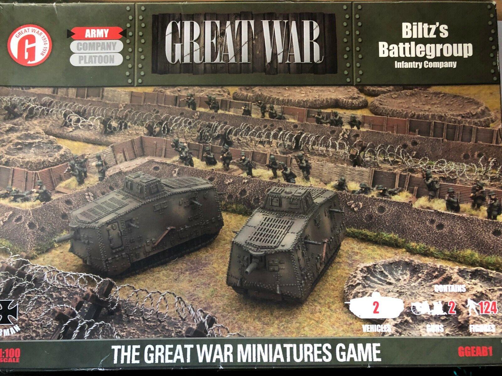 BLITZ'S Battlegroup - Battledavanti -  Ggeab1 - Guerra Mondiale i - Prima Edizione  promozioni