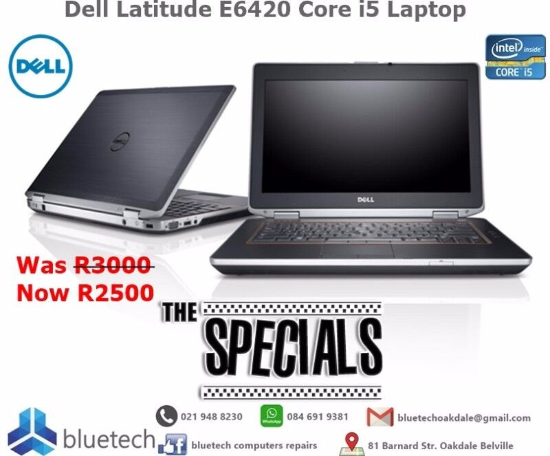 Dell Latitude E6420 Laptop.