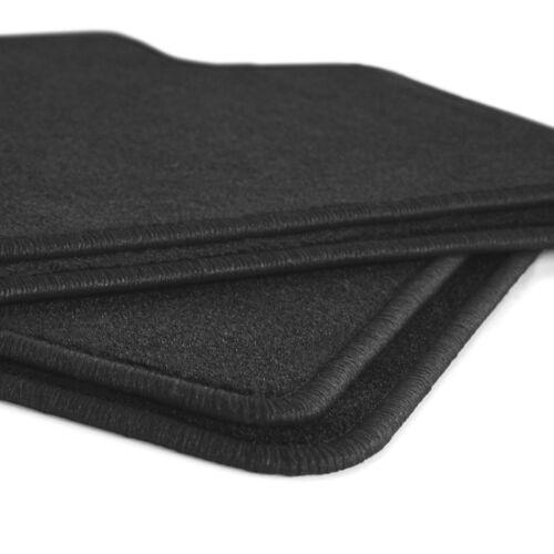 XL 5P Bj 2004-2015 Velours Fußmatten in schwarz Seat Altea