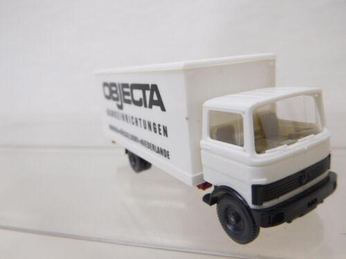 eso-1543 Wiking 1:87 Mercedes LKW Objecta mit winzige Gebrauchsspuren//Kratzer