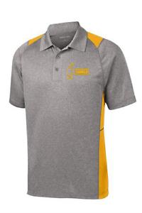 Hammer Men's Scandal Performance Polo Bowling Shirt Dri-Fit gold