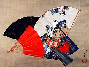 MODERN-PHOTOGRAPHY-ORIENTAL-FAN-COLOUR-COOL-LARGE-POSTER-ART-PRINT-BB3171A