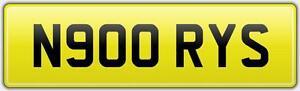 NORRIS-CAR-NUMBER-PLATE-WITH-FEES-PAID-N900-RYS-NORRISY-NORRISEY-NOOR-NOR-NORR