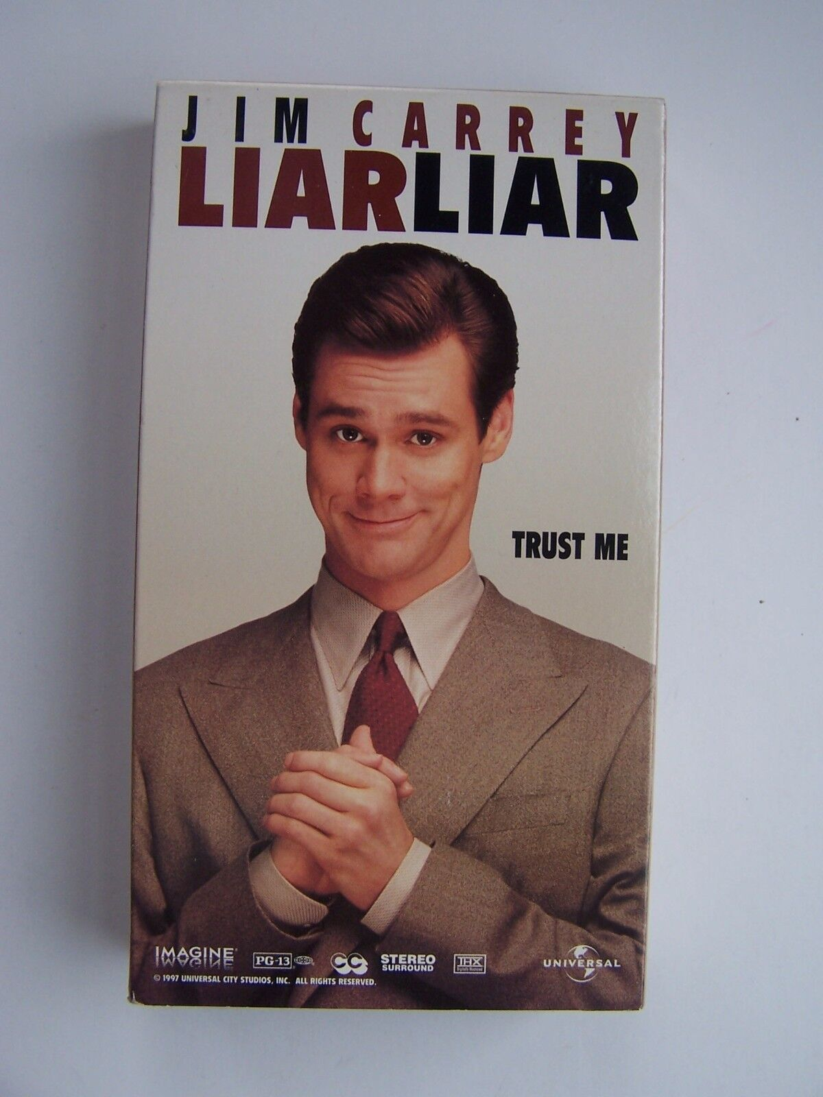 Liar Liar VHS Video Tape Movie Jim Carrey