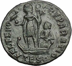 CONSTANTIUS-II-Constantine-the-Great-son-Ancient-Roman-Coin-Galley-i54840