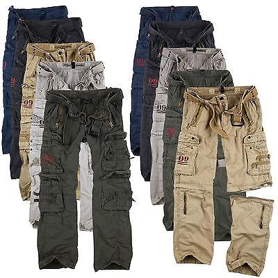 Surplus Raw Vintage Royal Traveler / Outback Herren Trousers - Premium Serie