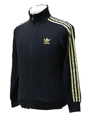 Adidas Firebird J TT Junior Kinder Jacke Jacket Schwarz - Gold Freizeit  Sport | eBay