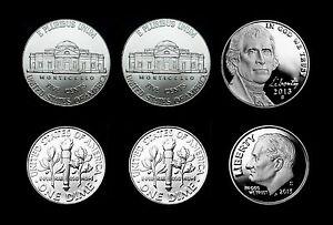 2011 2012 2013 P+D+S Jefferson Mint Proof Set ~ PD/'s from Mint Sets /& Bank Rolls