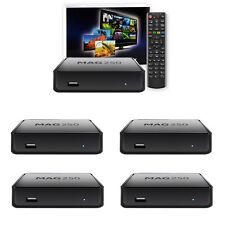 5 x MAG 250 IPTV TV Multimedia player from infomir Internet TV Box Original