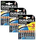 4 Duracell Ultra Power AAA Alkaline Battery Duralock Mx2400 Lr03