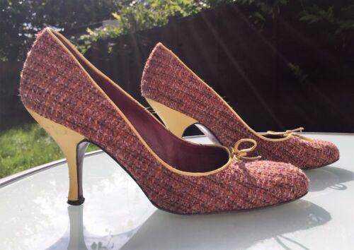 Shoes Bennett Stunning Eu Wool K Uk Court Woven L 38 5 Tweed UOqt1xw