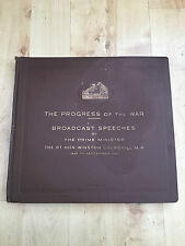 HMV C.3198 - C.3204 Winston Churchill Speech Set Volume 1 78 RPM Records Rare
