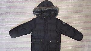 Manteau-blouson-doudoune-noir-Petit-Bateau-6-Ans-114-cm