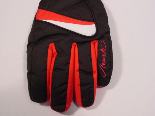 Hiromi #2931132 7 New Reusch Womens Ski PrimaLoft LEATHER PALMS Gloves Small