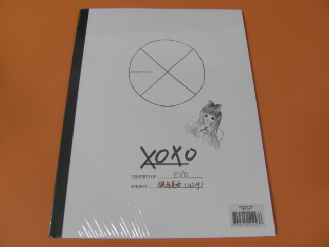 EXO XOXO [HUG VER.] CD w/ Yearbook & CARD +THREE Unfold POSTER SET $2.99 Ship