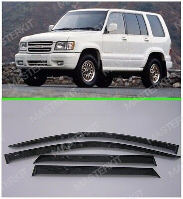 Deflectors For Isuzu Trooper LS Windows Rain Sun Visors Weather shields 1992-99