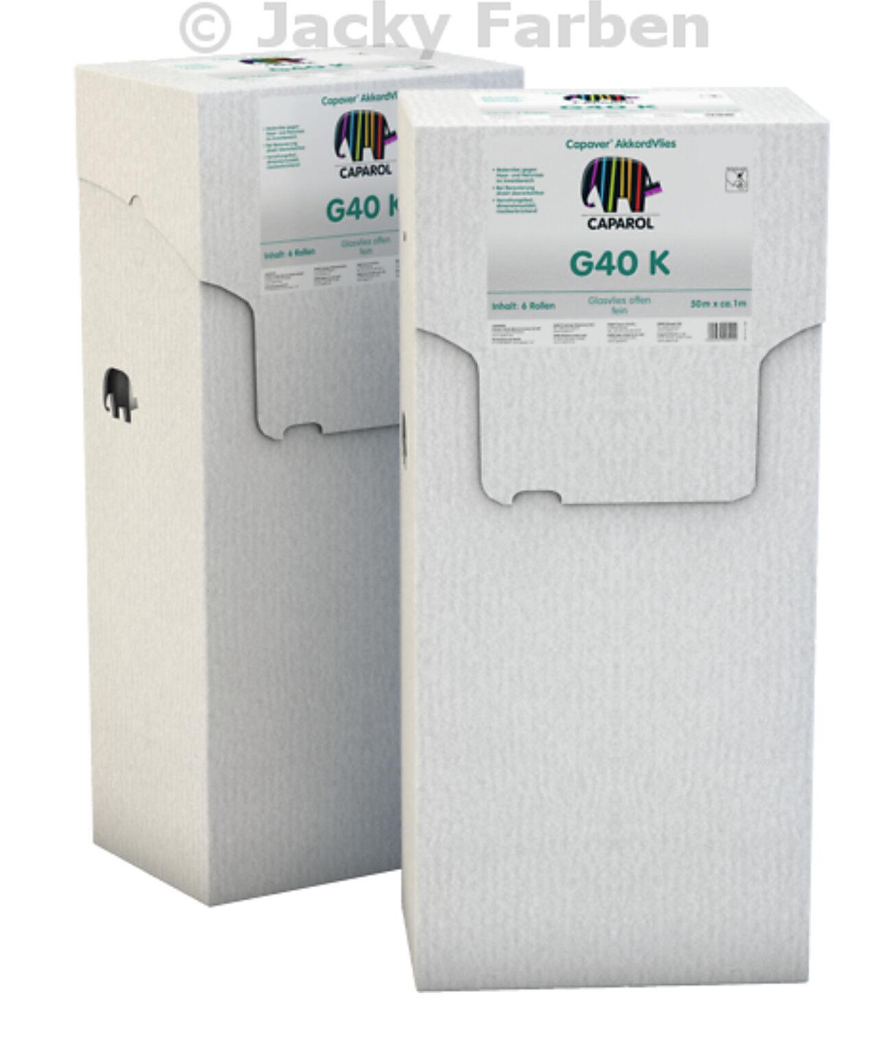 Angebot Caparol AkkordVlies G 40 K 50qm Glasfasergewebe Glasgewebe Glas Gewebe