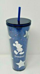 New Disney Parks Starbucks Blue Sorcerer Mickey Moon /& Stars 24oz Cold Tumbler