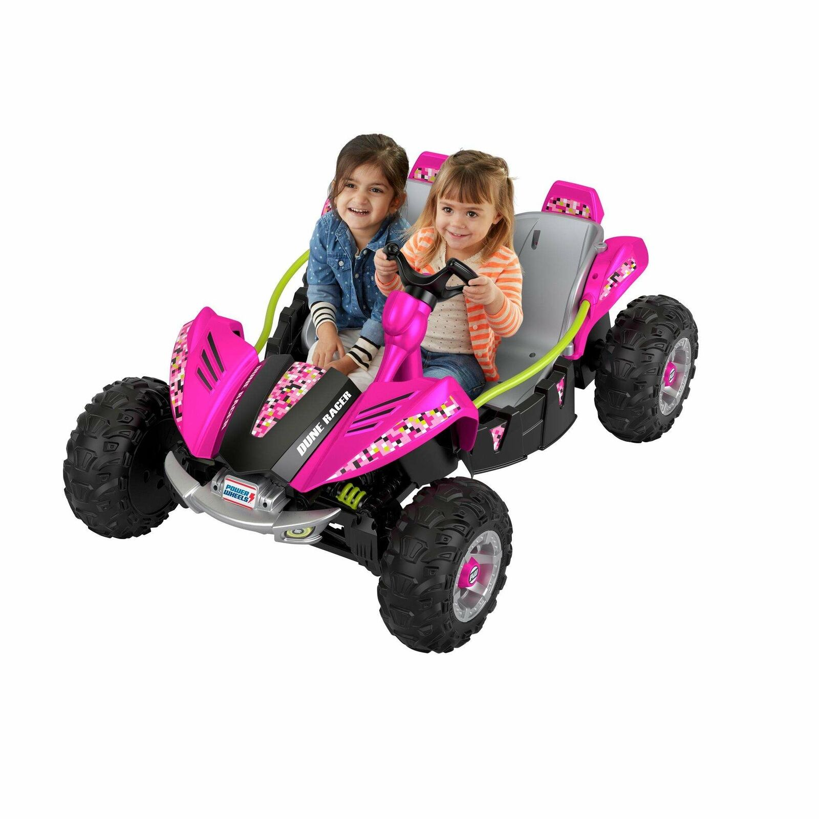 power wheels barbie cadillac escalade 12 volt ride on hot pink for sale online ebay new kids power wheels 12 volt battery powered ride on dune racer extreme pink