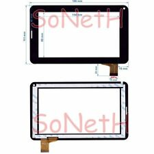 """Vetro Touch screen Digitizer 7,0"""" Hamlet Exagerate XZPAD703G 3G Tablet PC Nero"""