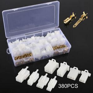 380PZ-ELETTRICO-2-8mm-2-3-4-6-pin-Filo-AUTO-CONNETTORE-TERMINALE-KIT-PER-MOTO