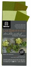 Lia Griffith Double Sided Crepe Paper Folds Roll 6.7-square Feet Green Tea and